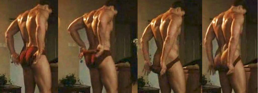 Naked Van Damme