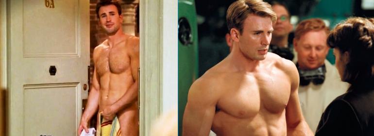 Chris evans naked gay