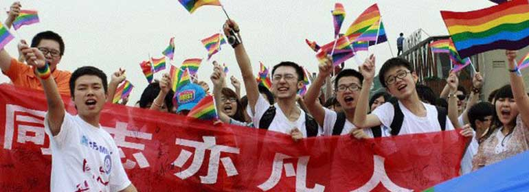 Chinese-Gay-Protests