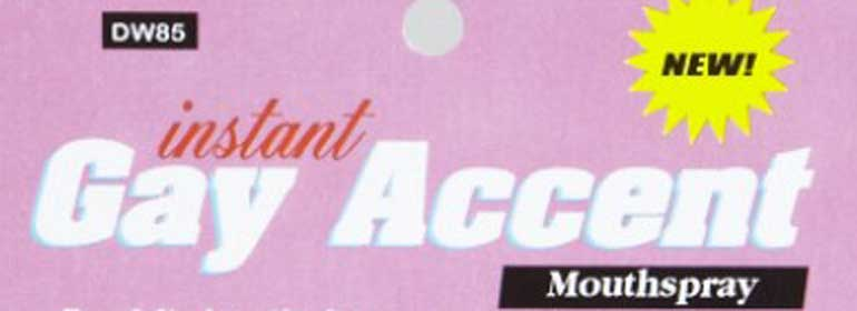 gay accent