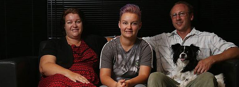 Kai and family