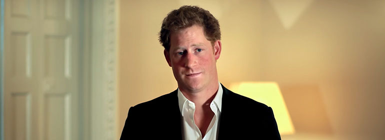 prince harry world aids day