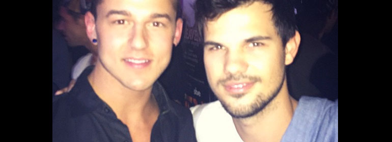 Taylor Lautner - Gay Bar