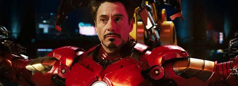 Downey Jr as Iron Man