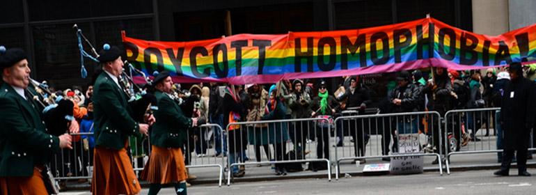 nyc homophobia parade