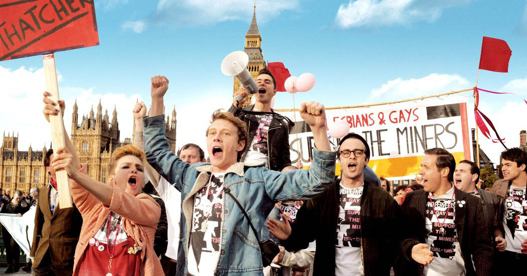 A scene of 'Pride' which won Outstanding Debut of a British Writer, Director or Producer at the BAFTAS