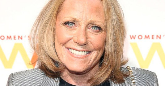 A close-up of Lesley Gore smiling