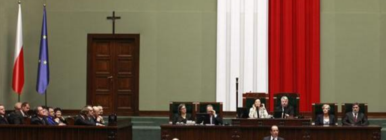poland civil partnerships parliament