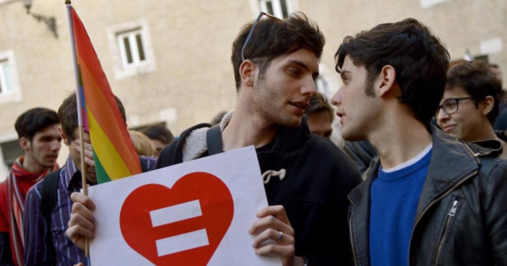 Italy Legalises Same-Sex Civil Partnerships