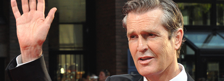 Gay actor Rupert Everett who explains that he wanted to be a woman when he was a child