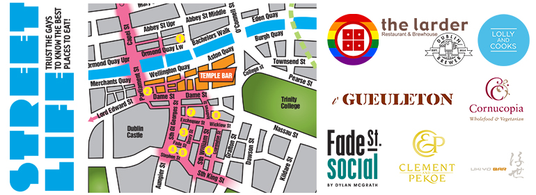 Dublin Streetlife June 2016 map of Dublin city centre
