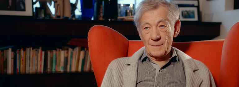 Ian McKellen in the It Got Better video campaign on youtube