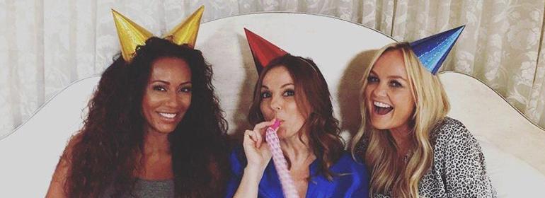Mel B, Geri Halliwell and Emma Bunton together again for The Spice Girls reunion as GEM