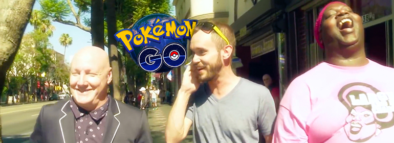 Latrice Royale, her boyfriend and James St. James explain pokemon go