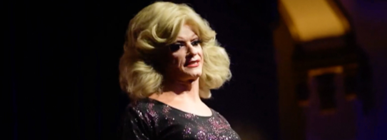 Panti Bliss giving a speech at the Equality Europe Galas about equality after orlando