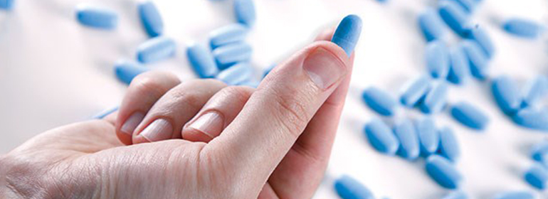 PrEP pills that the NHS England are reluctant to fund considering their appeal of the High court ruling