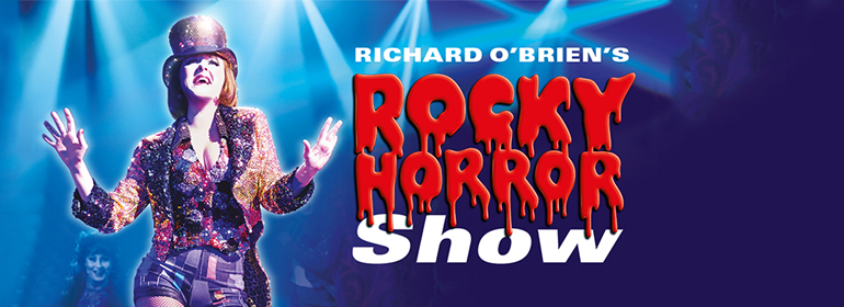 The poster for the rocky Horror show at the Bord Gáis Energy Theatre.