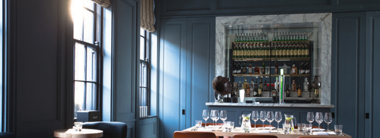 The Blue Room in The Dean is one venue for Gay and lesbian weddings in Ireland