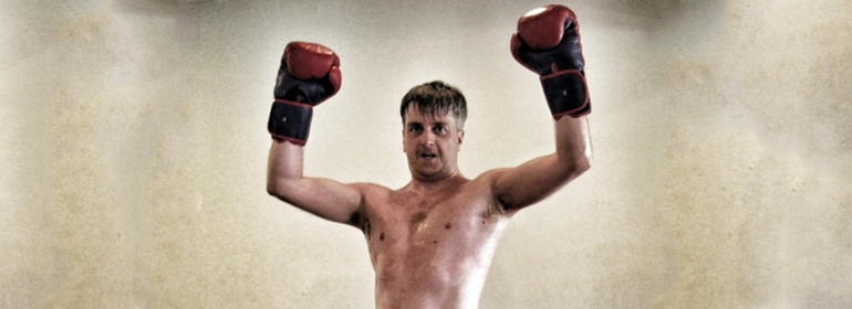 Irish Man who came out on Twitter posing with boxing gloves on