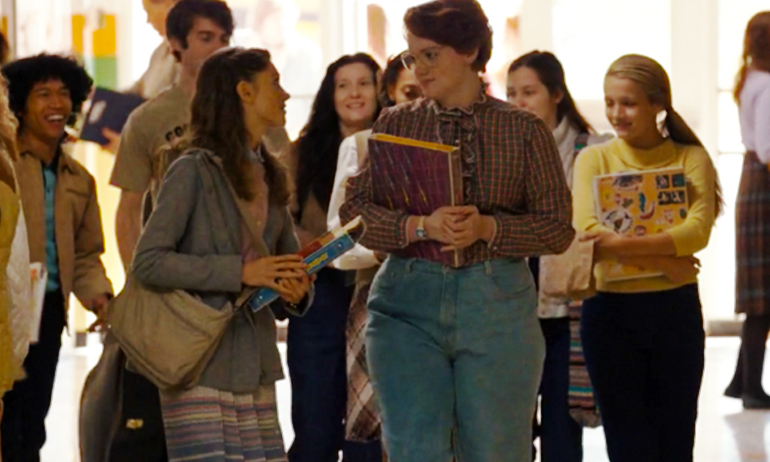 Barb, one of the best halloween costumes for lesbians this year, from stranger things