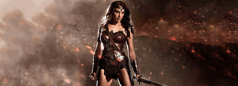 Wonder Woman who is not bi in her 2017 movie, is one of today's Cuppán Gay news stories