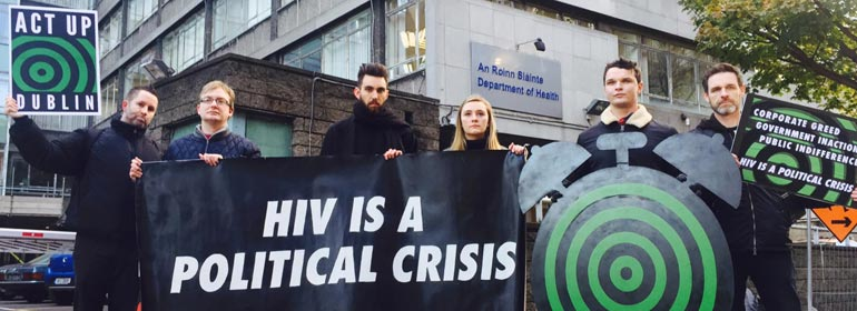 Act up dublin world aids day