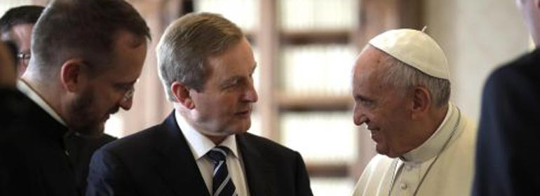 Pope Francis Enda Kenny