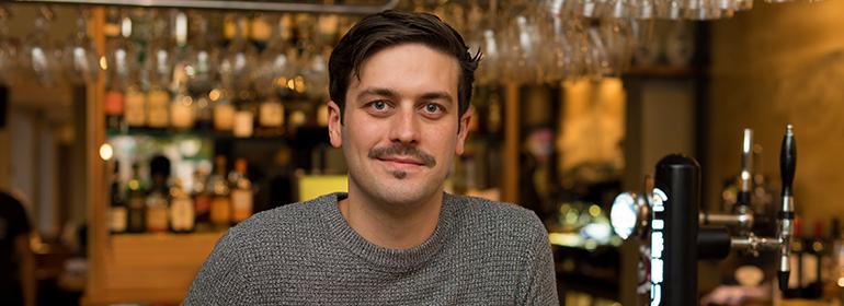 Yamamori Sushi manager Graham Ryan we interviewed in this month's Amuse Bouche