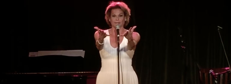 Alexandra Billings from transparent singing creep in today's Cuppán Gay