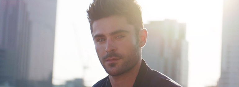 Zac Efron, the new face of Hugo Boss, in today's Cuppán Gay