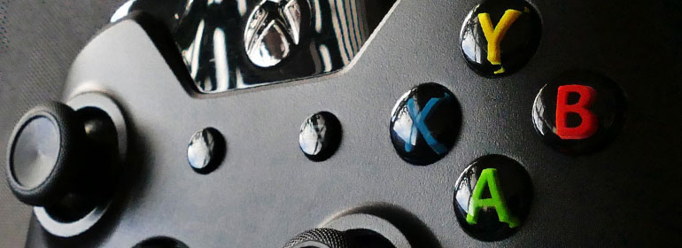 A gaming controller for an Xbox One