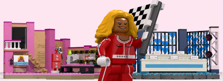 Here's the Lego RuPaul in today's Cuppán Gay
