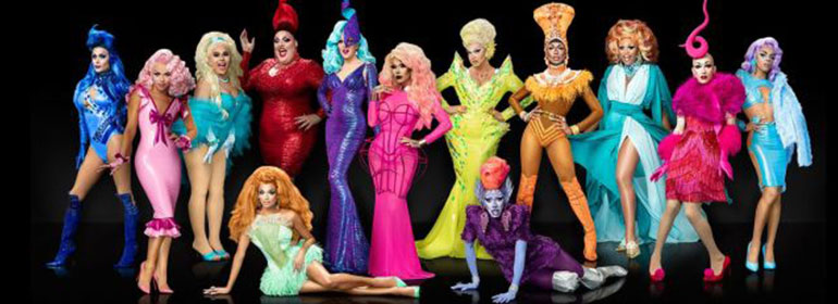 RuPaul's Drag Race Season 9 cast in today's Cuppán Gay