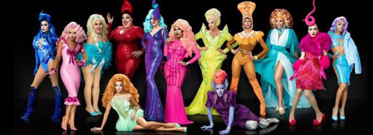 RuPaul's Drag Race Season 9 cast in today's Cuppán Gay