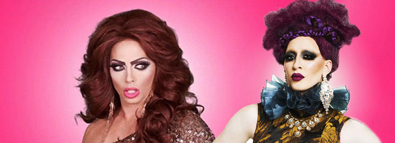 Alyssa Edwards and Detox in today's Cuppán Gay