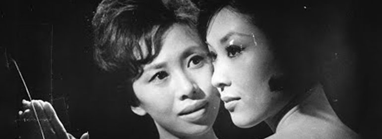 Two lesbian lovers in Manji, the japanese film