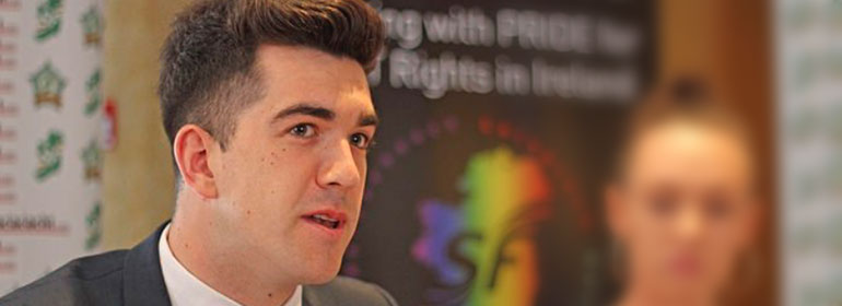 Senator Fintan Warfield from Sinn Fein which just launched a revised Gender Recognition Act