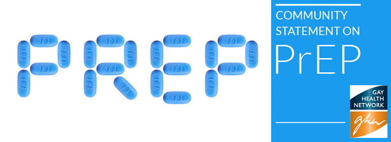 PrEP tablets lined up to spell PrEP which is the medication that the Gay Health Network (GHN) are urging the HSE to make available