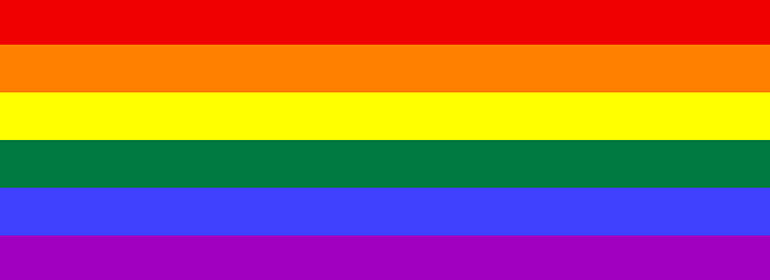 the LGBT rainbow flag whose creator passed away which is one of the stories in today's Cuppán Gay