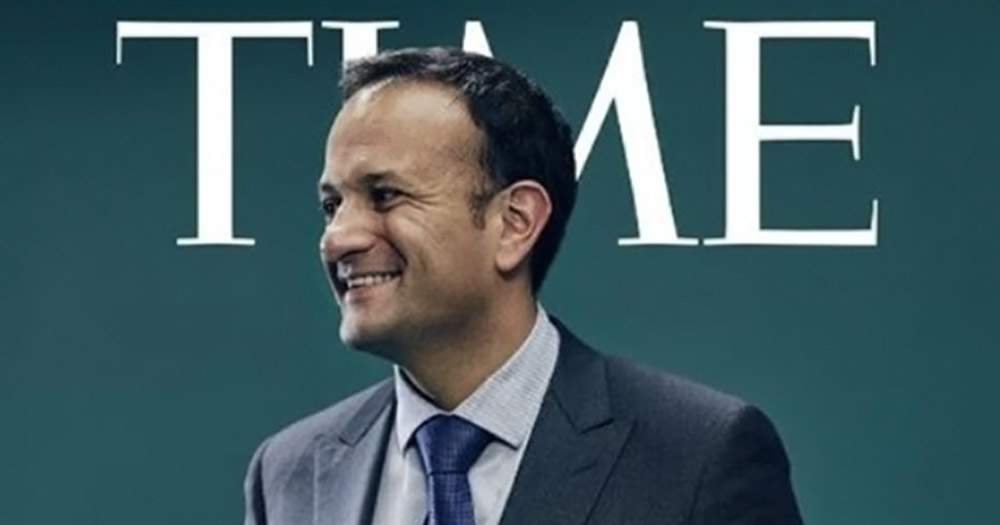Leo Varadkar on the cover of TIME Europe