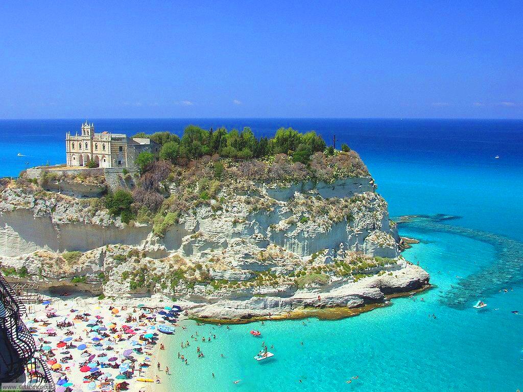 Santa Maria beach in Calabria, Italy