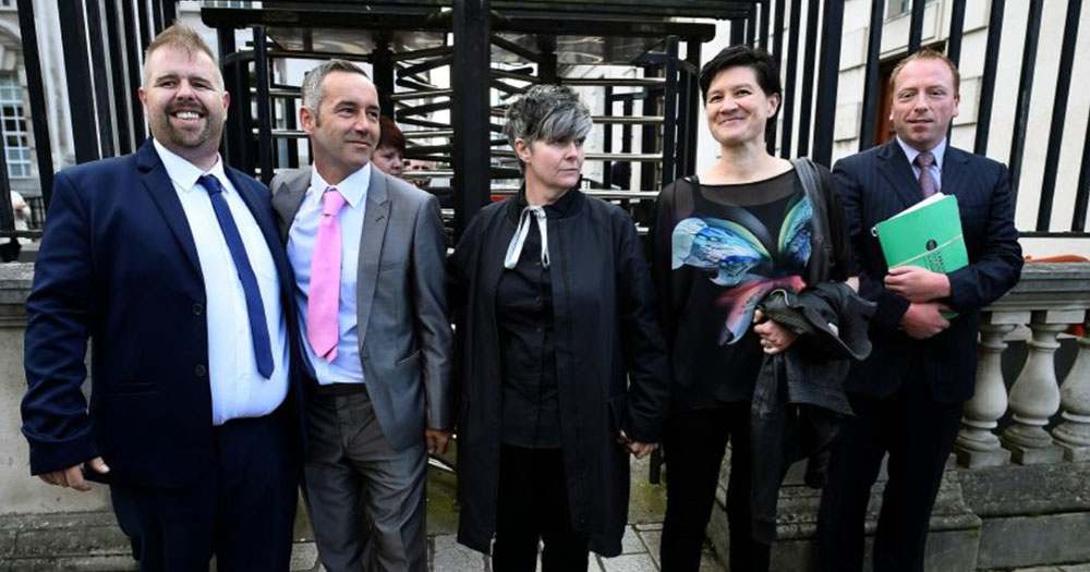 The LGBT couple's whose case was dismissed by northern Irish courts