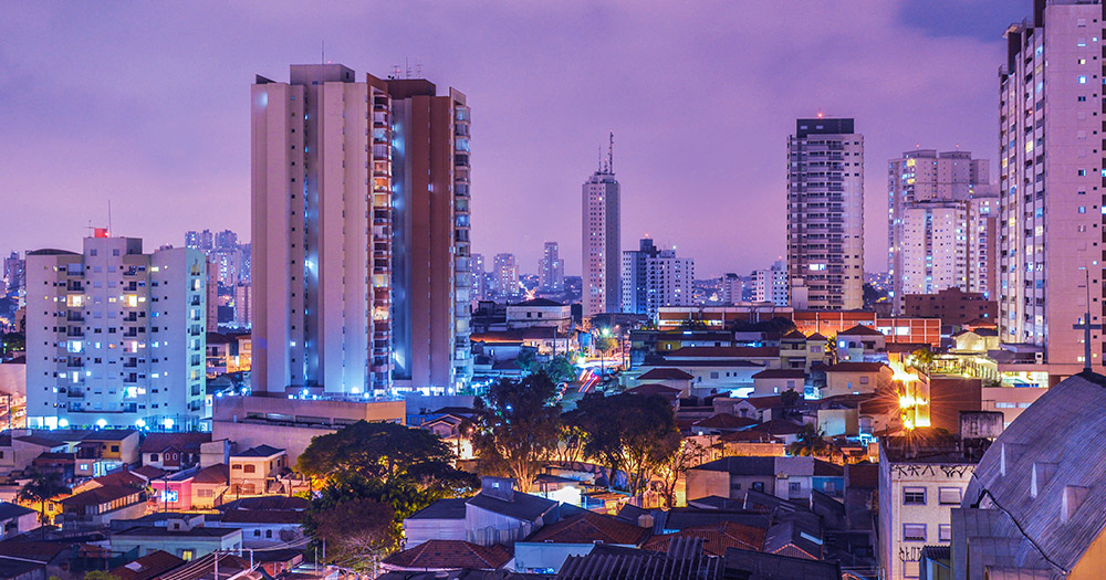 A picture of a gorgeous sunset in Brazil, where a judge has just ruled in favour of gay conversion therapy