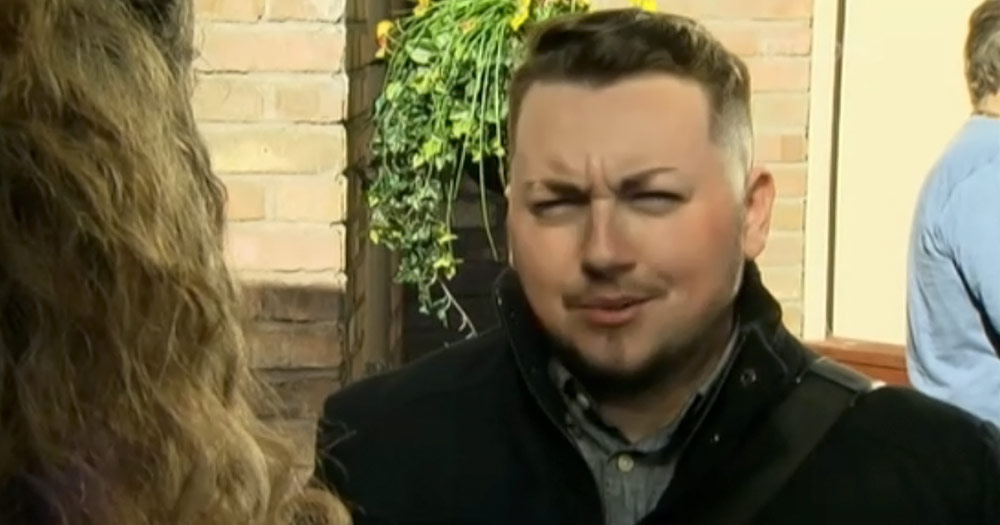 Jack Murphy as the first trans character in Fair City