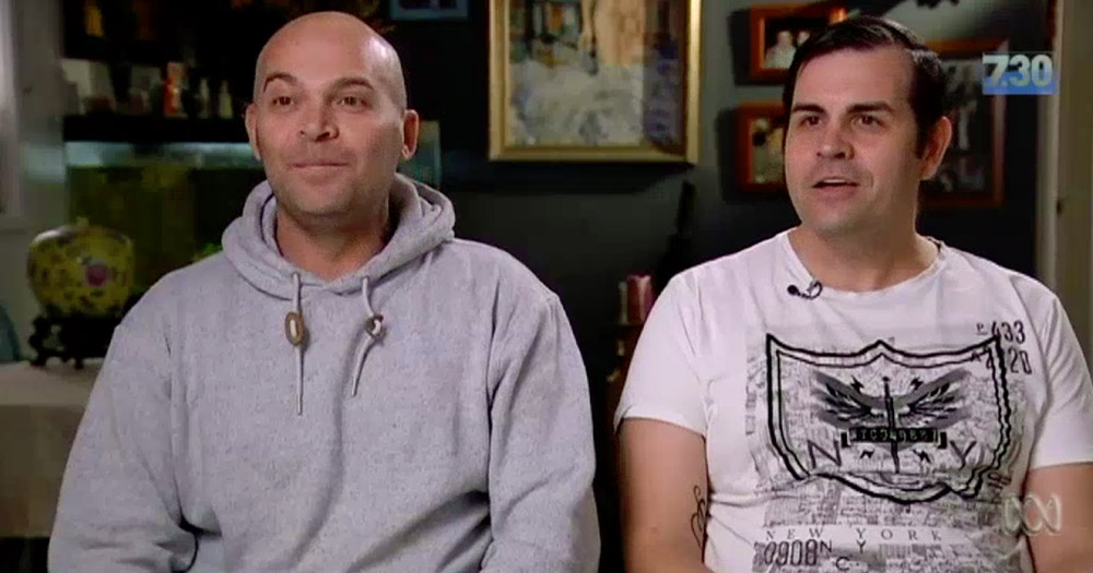 The gay couple who oppose same-sex marriage