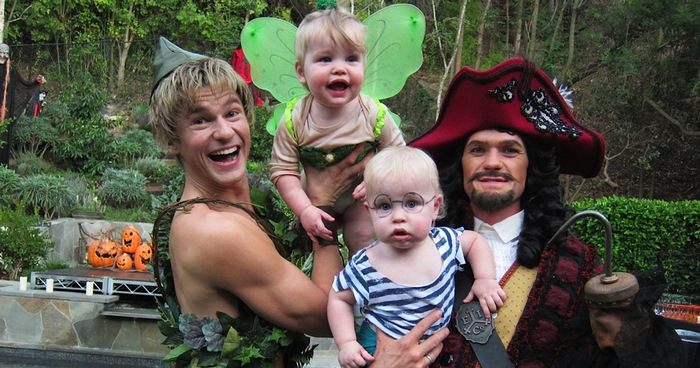 5 Times This Couple and Their Kids Owned Halloween • GCN