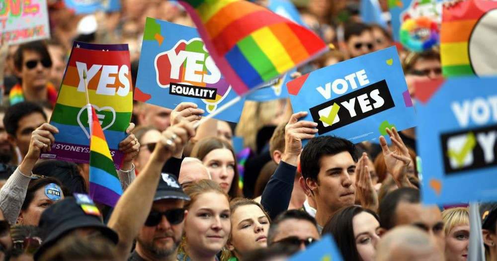 Australian Marriage equality campaigners