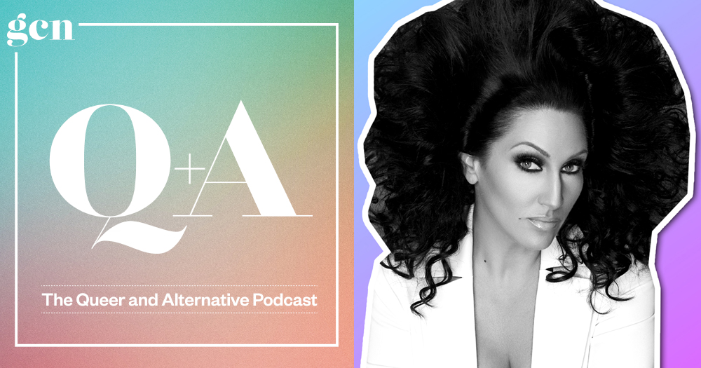The latest guest of our podcast Q+A: Michelle Visage