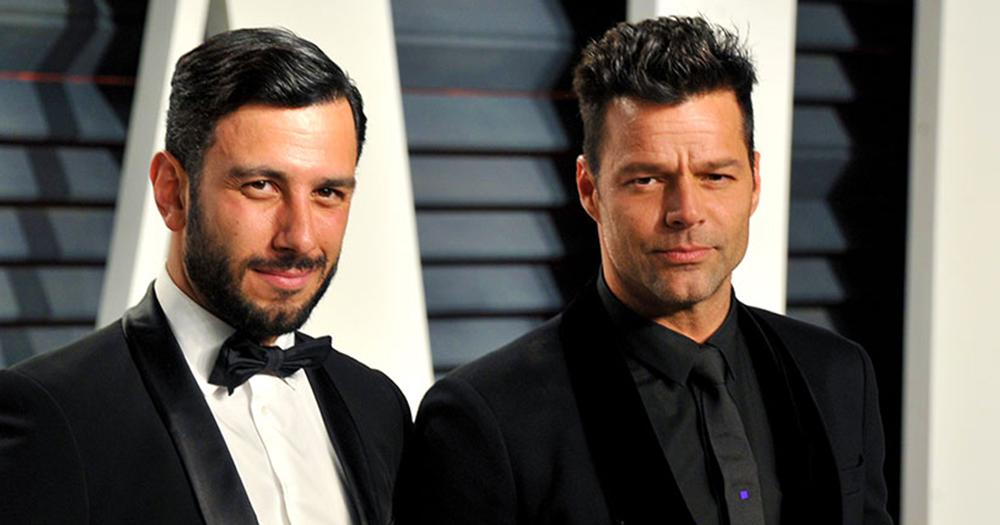 Ricky Martin & partner Jwan Yosef
