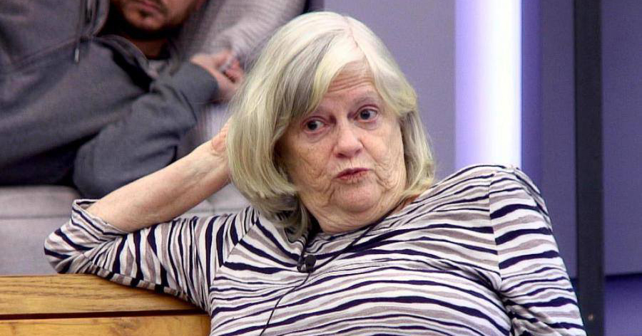 ann widdecombe looking like she sucked a lemon